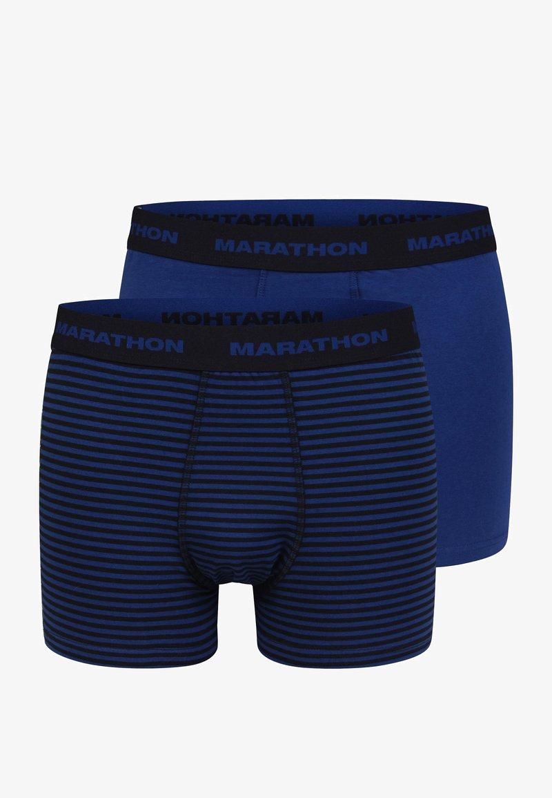 Marathon - 2-PACK RETRO - Underkläder - dark blue/black