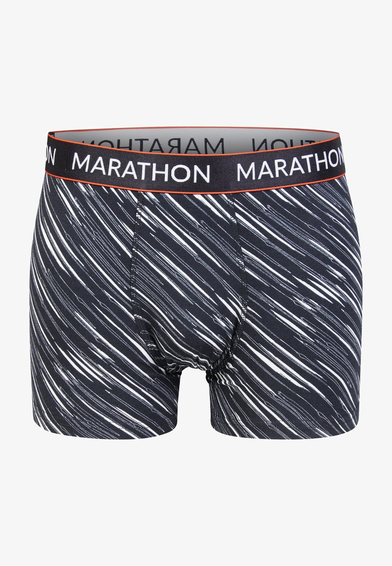 Marathon - RETRO-SHORTS FUNCTION - Underkläder - grey/white
