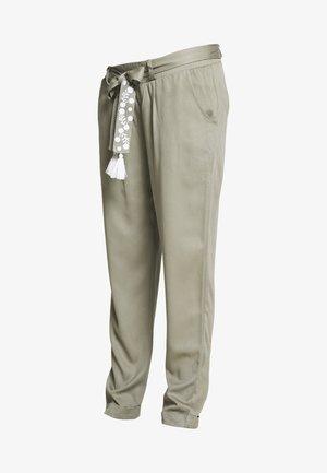NIGHT TRAIN - Spodnie materiałowe - khaki