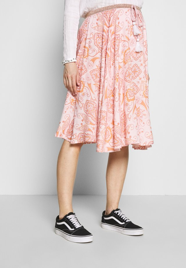 MOOD MIX - A-line skirt - light pink