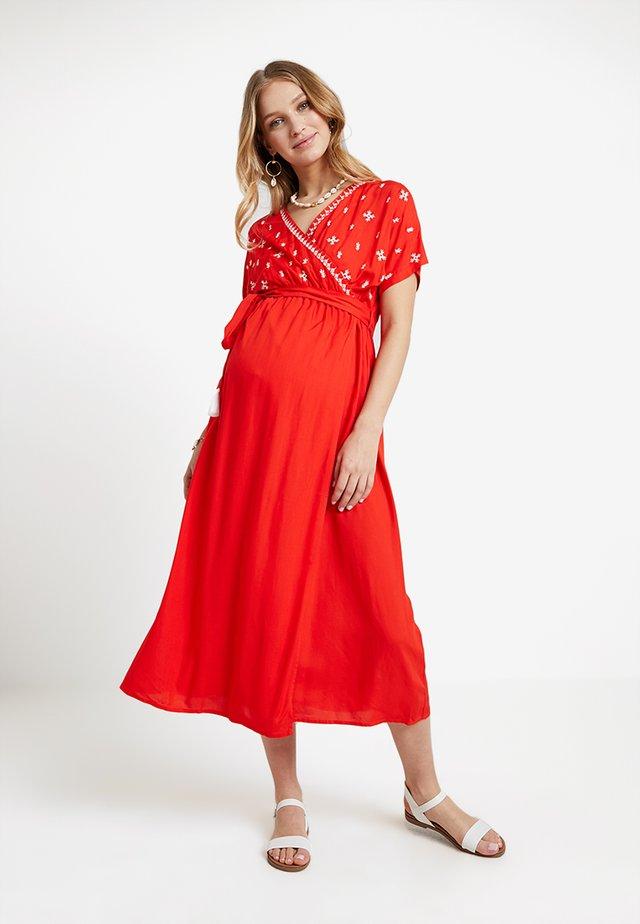 ISLAND GIRL - Maxi-jurk - red
