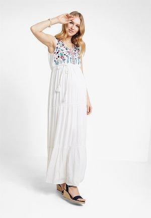 CAPRI VIBES - Maxi šaty - white