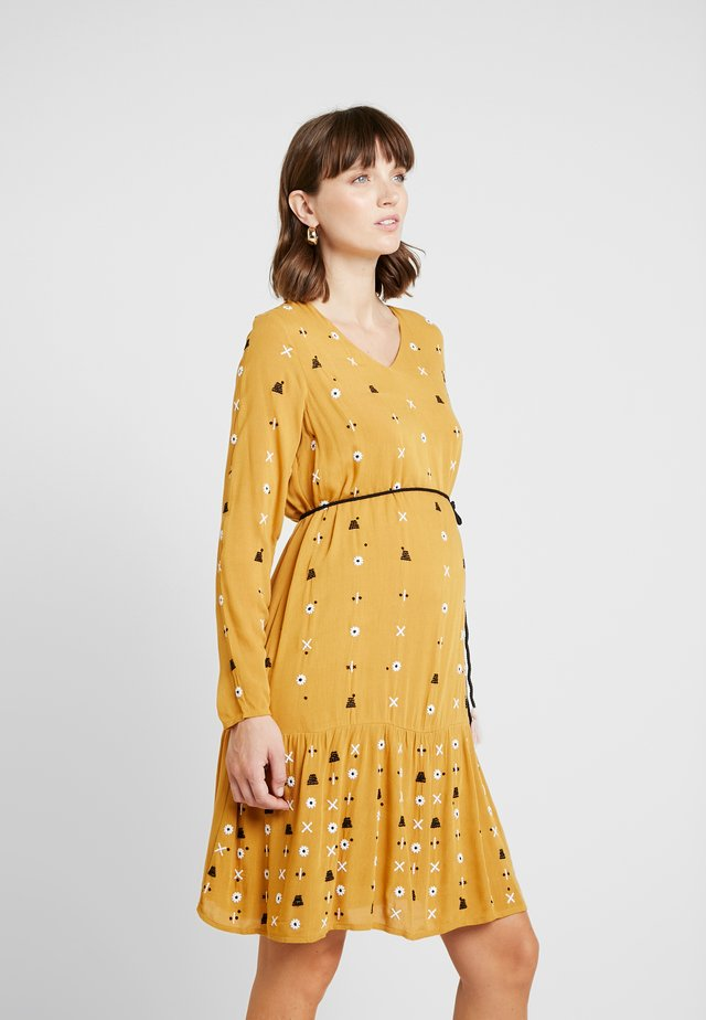 BAZAAR BOHEMIA - Jersey dress - ochre