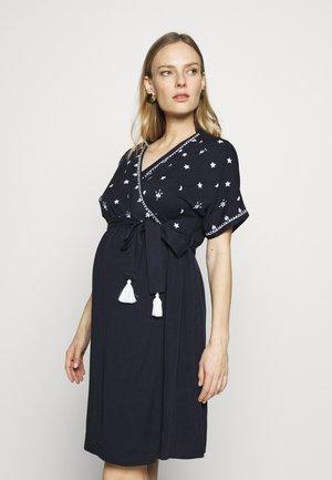 THIRD EYE - Sukienka z dżerseju - night blue