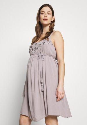 PALACE OF WINDS - Sukienka z dżerseju - light grey