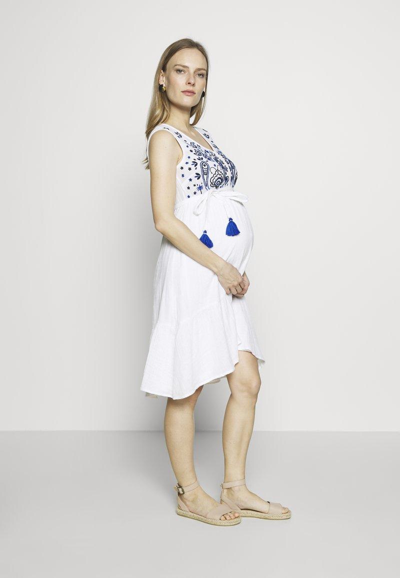 Mara Mea - RICKSHAW RIDE  - Denní šaty - white