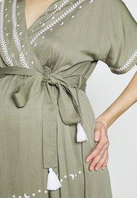 Mara Mea - THIRD EYE - Maxi šaty - khaki - 5