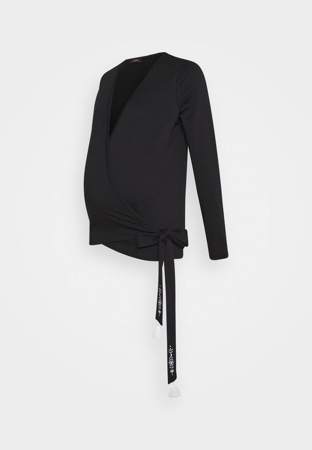 WILD HEART - Langarmshirt - black