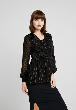 CLOUDY TREE - Blouse - black