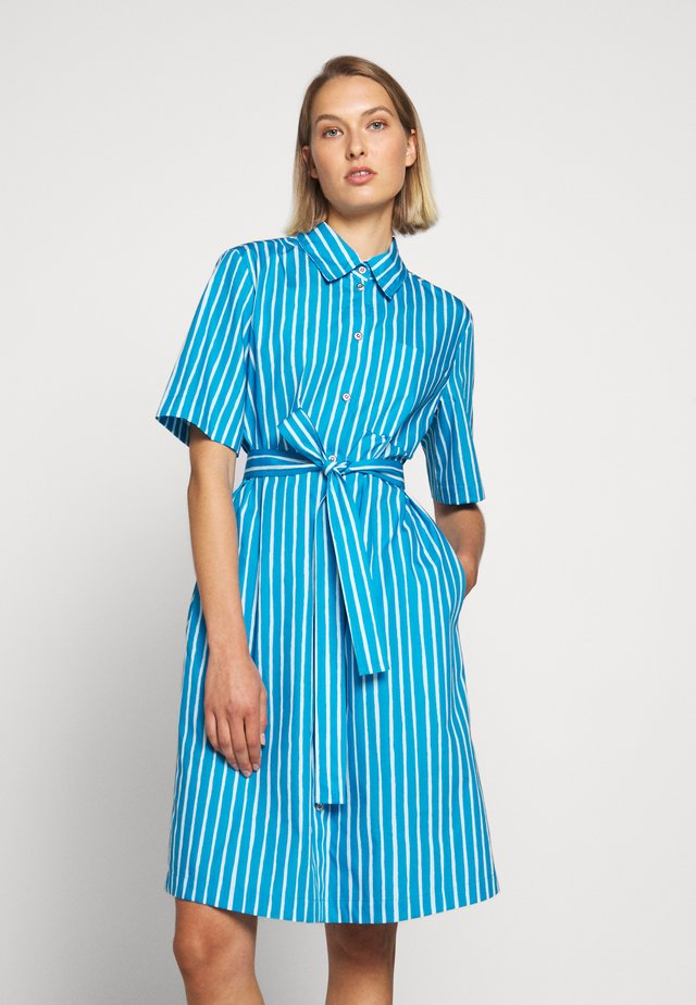 PALSTA PICCOLO DRESS - Skjortekjole - blue/light blue
