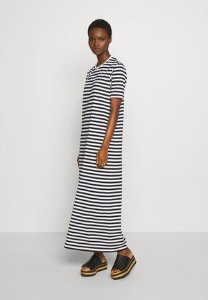 HETTA NIGHTGOWN - Maxi dress - white/black