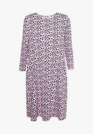 ARETTA PIKKUNINEN UNIKKO - Sukienka z dżerseju - dark blue/pink/prune