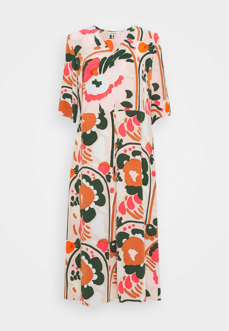 Marimekko - SOLMU KARUSELLI DRESS - Sukienka letnia - multi-coloured