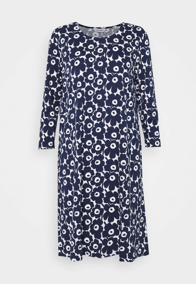 ARETTA UNIKKO DRESS - Jerseykjole - dark blue