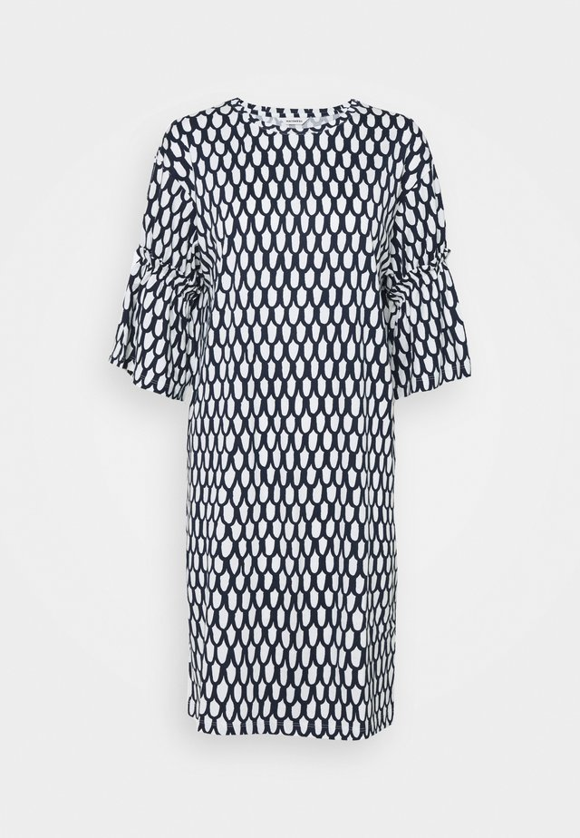 GEODESIA PIKKU SUOMU DRESS - Robe en jersey - dark blue