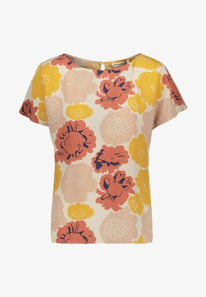 Blouse - peach/ yellow/coral