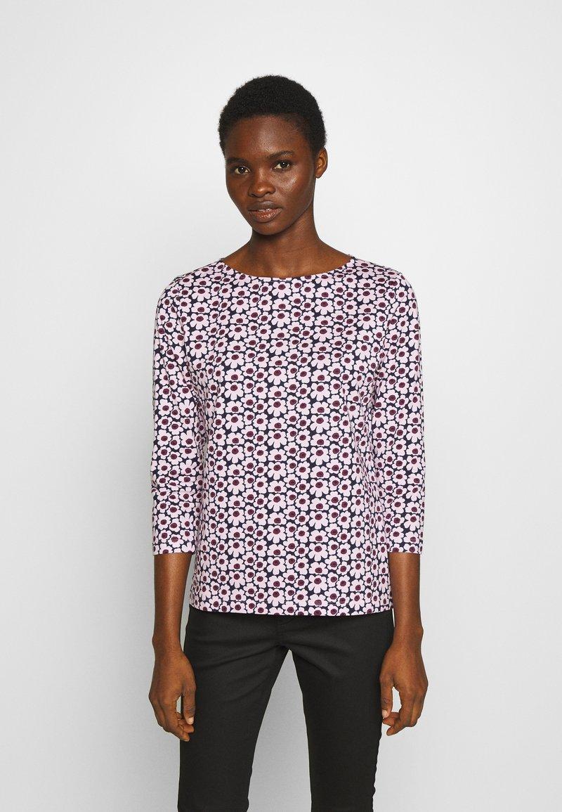 Marimekko - ILMA PIKKUNINEN UNIKKO - Långärmad tröja - dark blue/pink