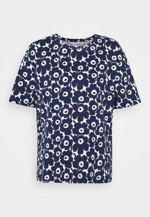 NEA UNIKKO - Print T-shirt - dark blue