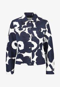 Marimekko - SARPIO UNIKKO - Summer jacket - off-white/dark blue - 4