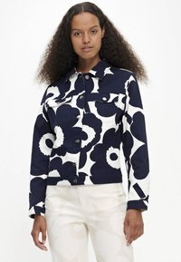 Marimekko - SARPIO UNIKKO - Summer jacket - off-white/dark blue - 0