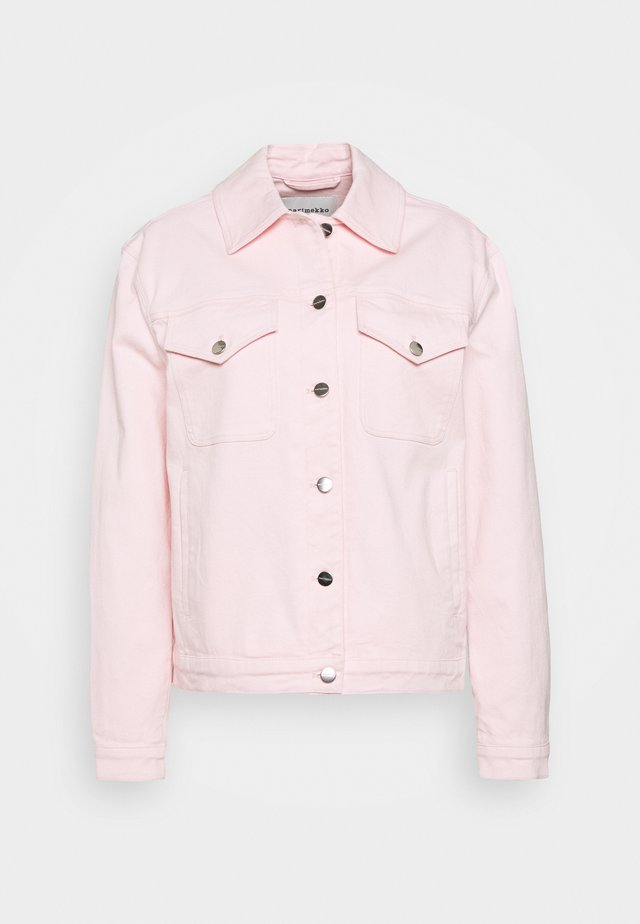 RANTA COAT - Veste en jean - light pink