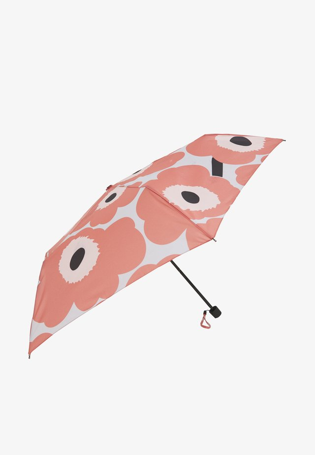SECTION MANUAL UNIKKO UMBRELLA - Paraplyer - coral/beige/black