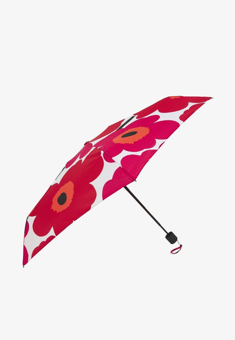 Marimekko - PIENI UNIKKO MANUAL UMBRELLA - Parasol - white/red