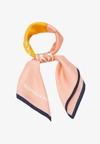 Marimekko - JOSINA PIONI SCARF - Foulard - coral/yellow/navy - 1