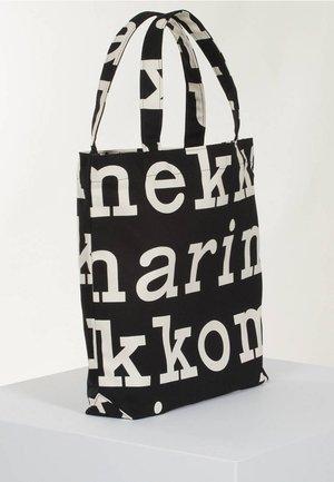 Torba na zakupy - black/off white