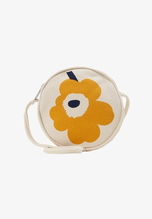 RILLA UNIKKO BAG - Torba na ramię - off white/yellow/dark blue