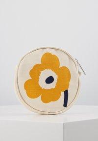 Marimekko - RILLA UNIKKO BAG - Across body bag - off white/yellow/dark blue - 2