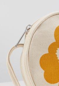 Marimekko - RILLA UNIKKO BAG - Across body bag - off white/yellow/dark blue - 5