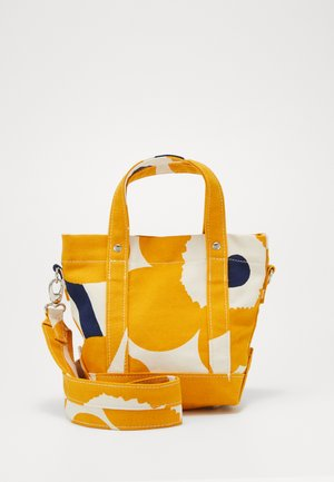 PIKKU PERUSKASSI UNIKKO BAG - Borsa a tracolla - off white/yellow/dark blue