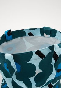 Marimekko - NOTKO PIENI UNIKKO BAG - Tote bag - light turquoise, green, blue - 4