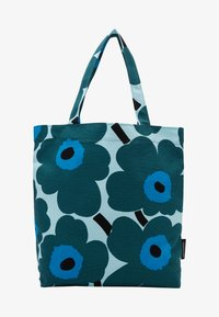 Marimekko - NOTKO PIENI UNIKKO BAG - Tote bag - light turquoise, green, blue - 1