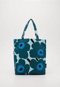 Marimekko - NOTKO PIENI UNIKKO BAG - Tote bag - light turquoise, green, blue - 0