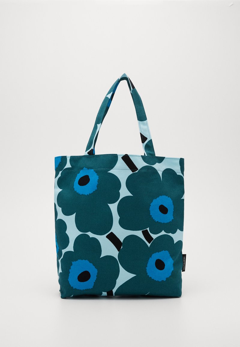 Marimekko - NOTKO PIENI UNIKKO BAG - Tote bag - light turquoise, green, blue