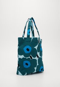 Marimekko - NOTKO PIENI UNIKKO BAG - Tote bag - light turquoise, green, blue - 3