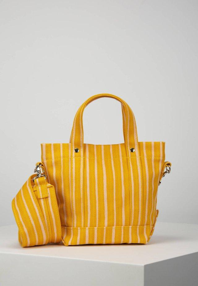 Handbag - yellow/pink