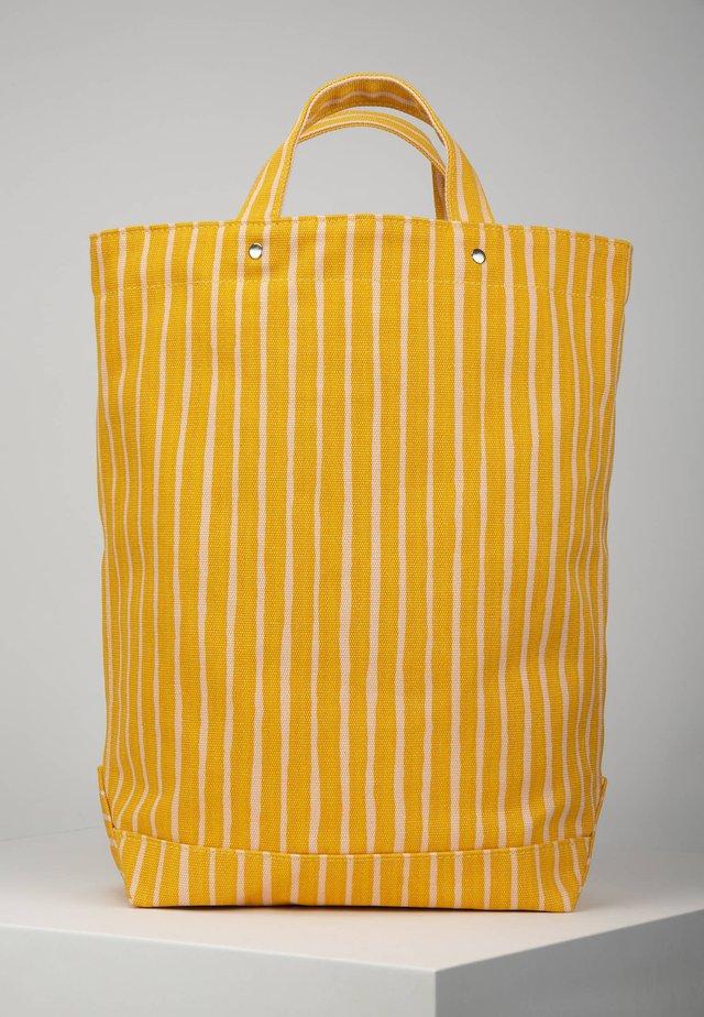 Tote bag - yellow/pink