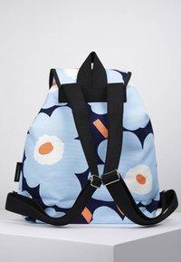 Marimekko - ERIKA  - Reppu - blue/white/peach - 2