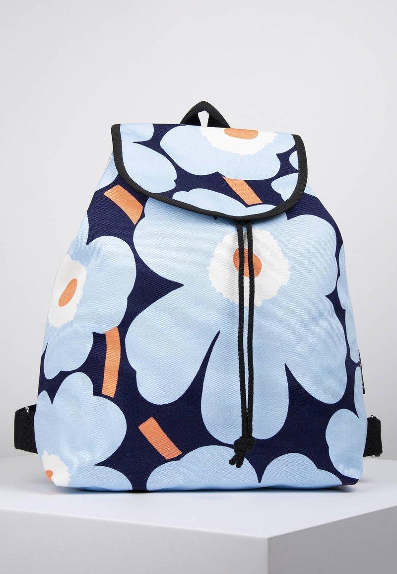 Marimekko - ERIKA  - Reppu - blue/white/peach