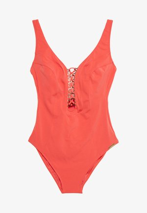 SWIMSUIT - Badedrakt - hot coral