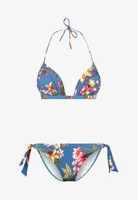Maryan Mehlhorn - FLEURI - Bikini-Top - smoke blue - 4
