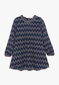 Missoni Kids - DRESS - Vestido de punto - blue - 0