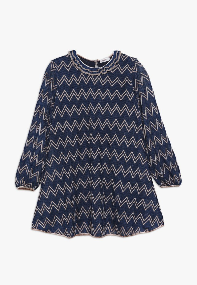 DRESS - Jumper dress - blue