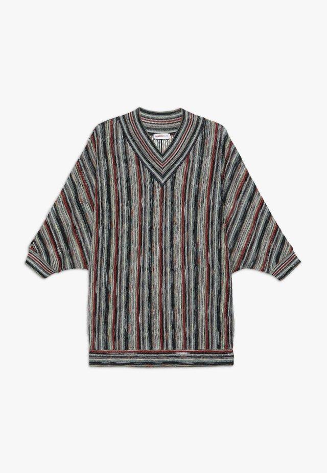 DRESS - Abito in maglia - multicolour