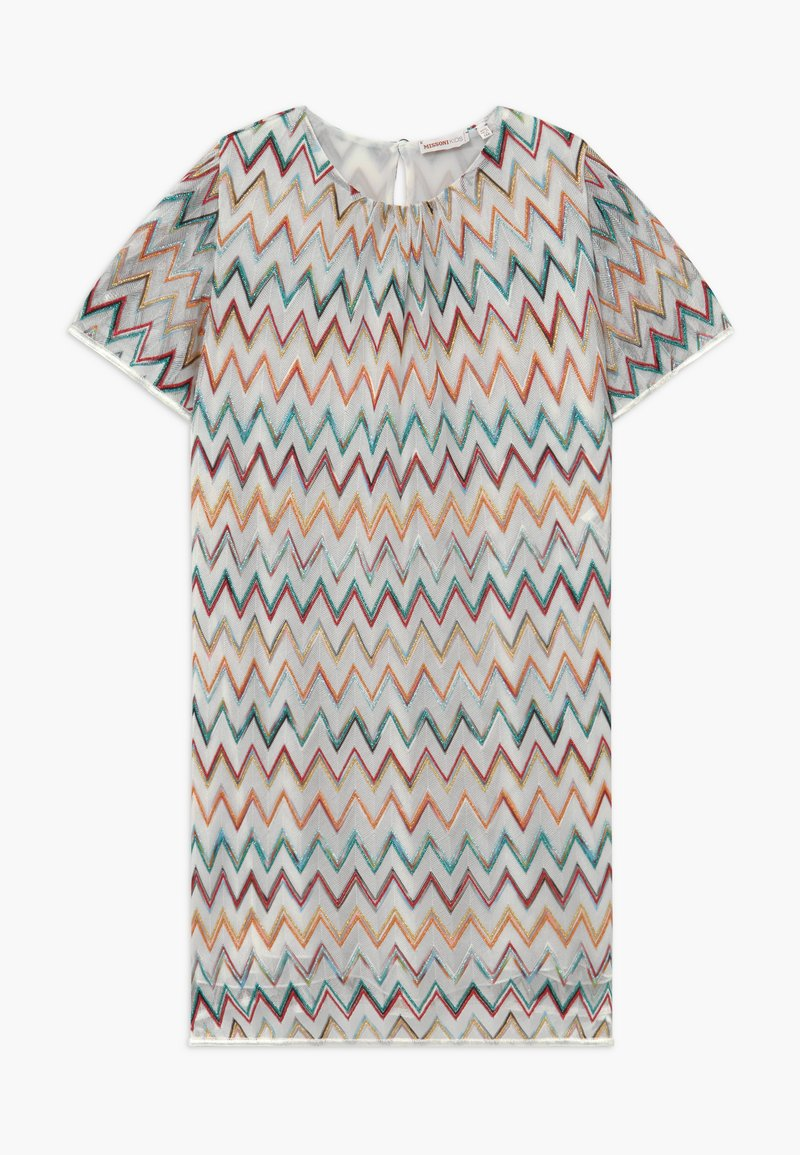 Missoni Kids - Cocktailkjoler / festkjoler - white