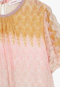 Missoni Kids - DRESS - Pletené šaty - multicoloured - 3