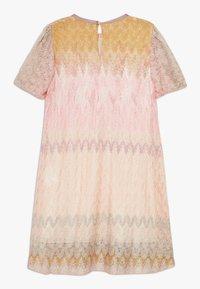 Missoni Kids - DRESS - Pletené šaty - multicoloured - 1